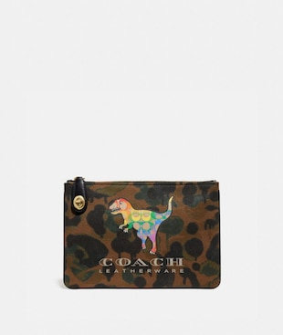 TURNLOCK POUCH 26 WITH RAINBOW SIGNATURE REXY