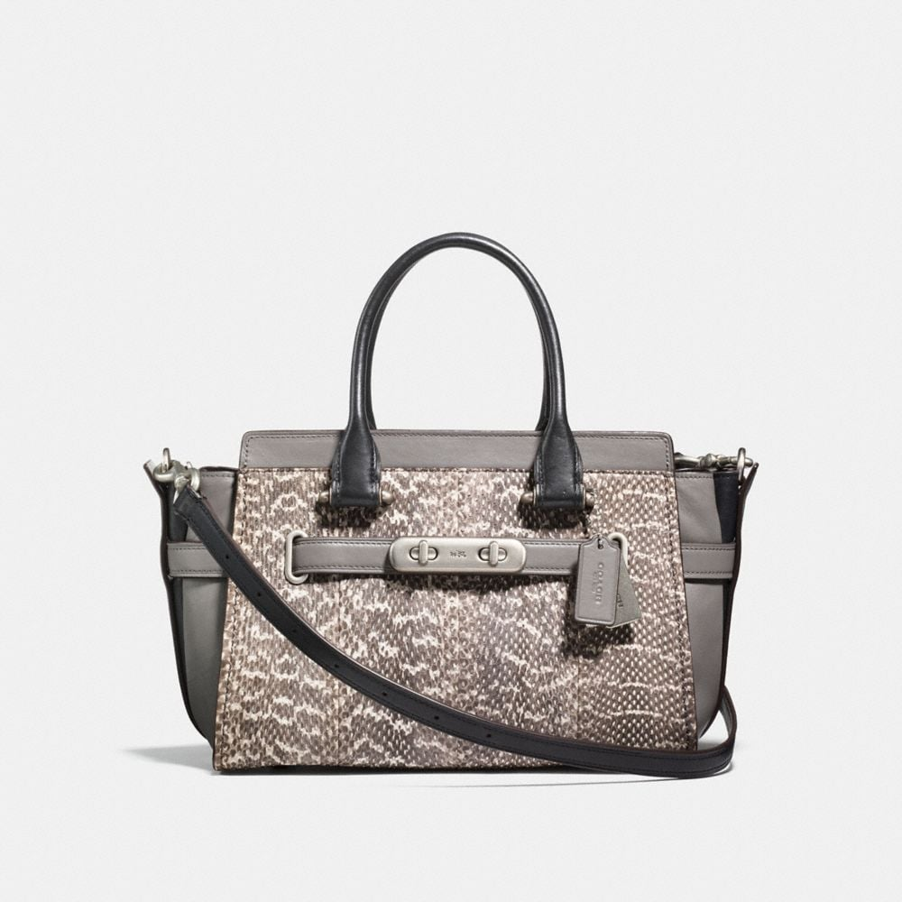 Coach Coach Swagger 27 in Snakeskin