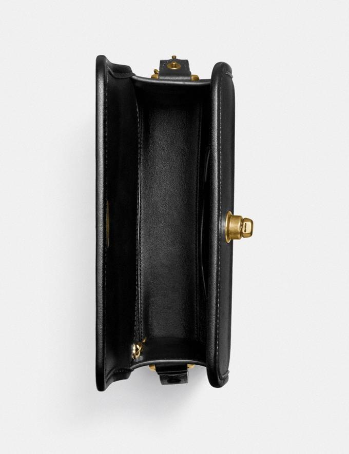 Coach Turnlock Shoulder Bag B4/Black Gifts For Her Under $500 Alternate View 2