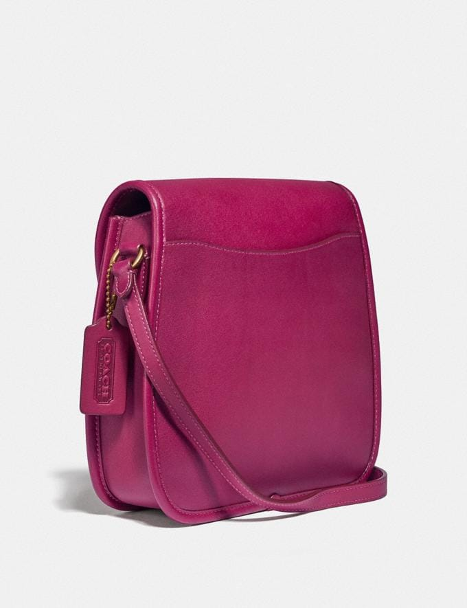 Coach Turnlock Flap Square Pouch B4/Wildflower Gifts For Her Under $500 Alternate View 1