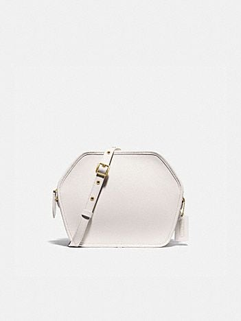 zip geometric pouch