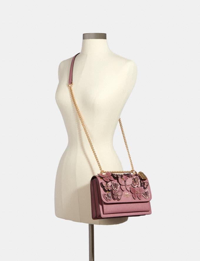 Coach Klare Crossbody With Butterfly Applique Im/Rose Multi Handbags Handbags Alternate View 2