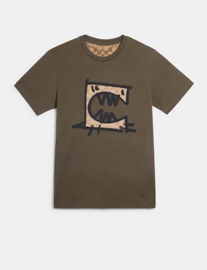 Coach T-Shirt With Rexy by Guang Yu Moss