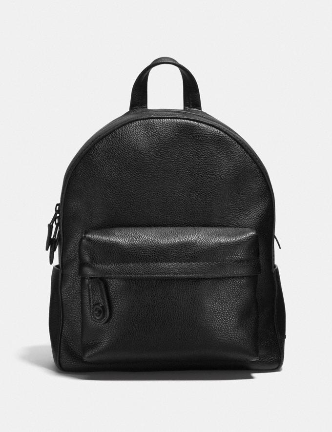 Coach Campus Backpack Black/Matte Black SALE Women's Sale Bags