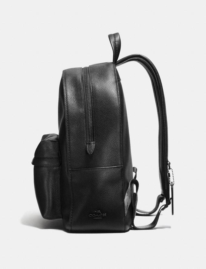 Coach Campus Backpack Black/Matte Black SALE Women's Sale Bags Alternate View 1