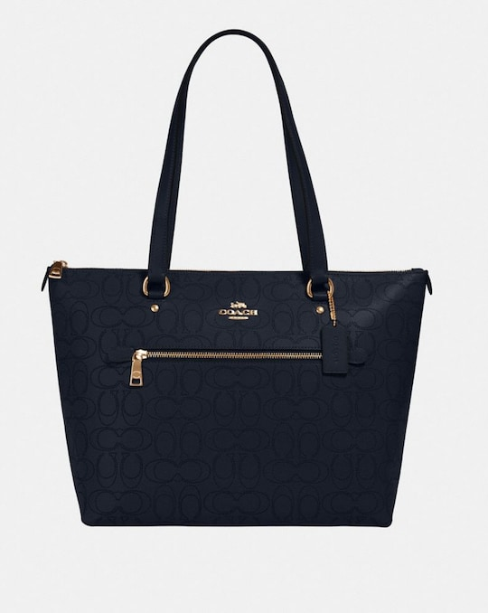 GALLERY TOTE IN SIGNATURE LEATHER
