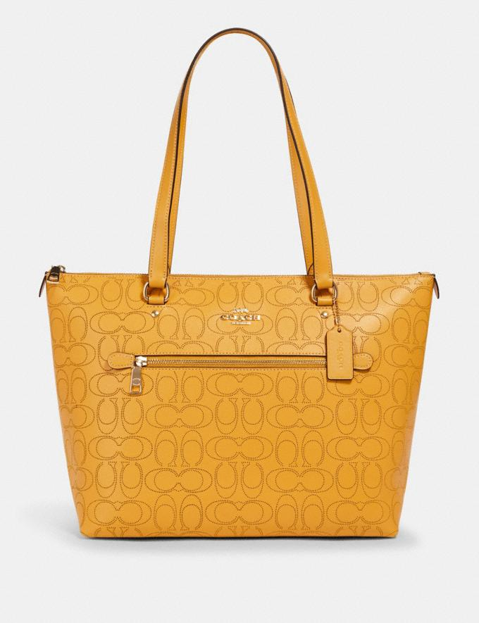 Coach Gallery Tote in Signature Leather Im/Honey Deals Best Deals of the Week