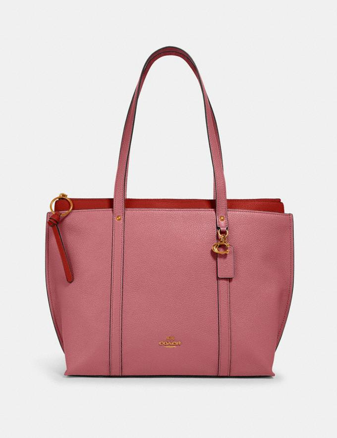 Coach May Tote Im/Rose Clearance Bags