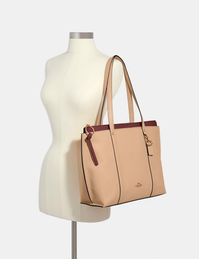 Coach May Tote Im/Taupe Bags Bags Totes Alternate View 2