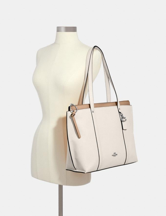 Coach May Tote Sv/Chalk Clearance Alternate View 2