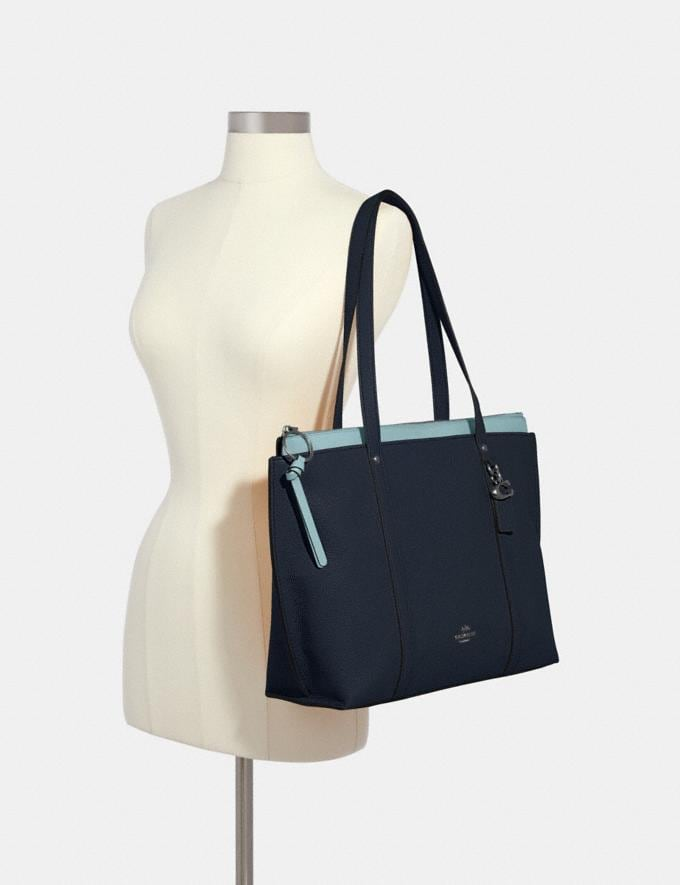 Coach May Tote Sv/Midnight What's New Alternate View 2