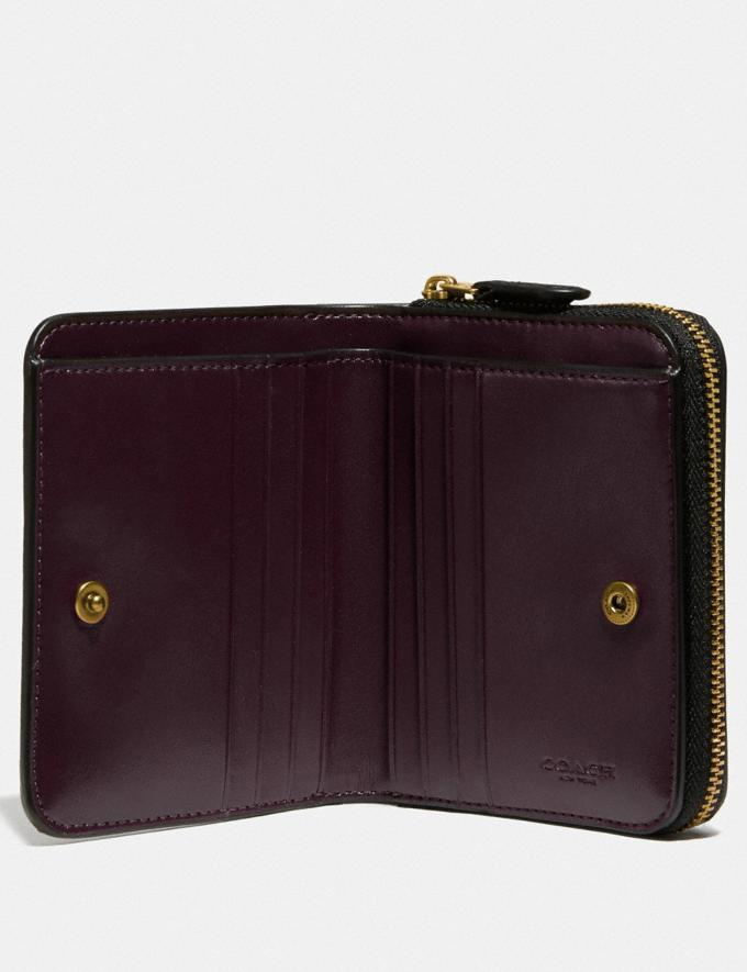 Coach Billfold Wallet Brass/Black New Women's New Arrivals Wallets & Wristlets Alternate View 2