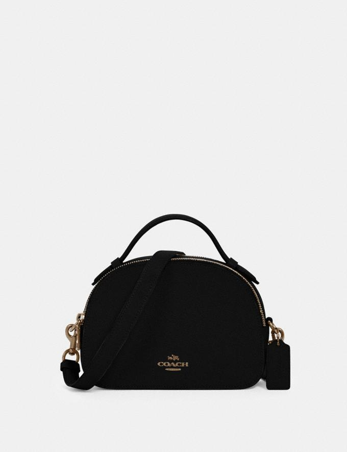 Coach Serena Satchel Im/Black What's New