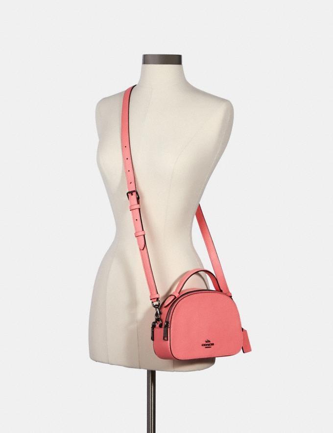 Coach Serena Satchel Qb/Pink Lemonade Bags Bags Alternate View 3