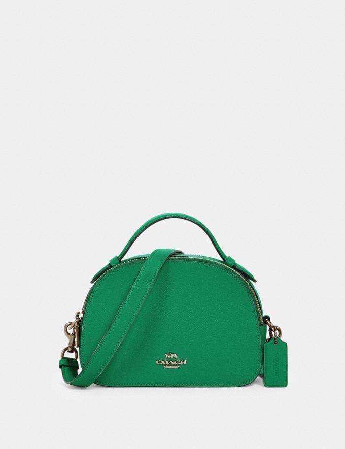 Coach Serena Satchel Sv/Shamrock Bags Bags