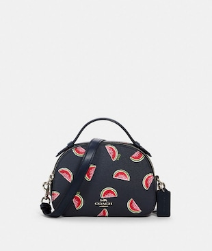SERENA SATCHEL WITH WATERMELON PRINT