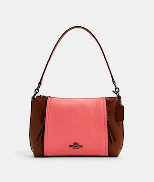 SMALL MARLON SHOULDER BAG IN COLORBLOCK