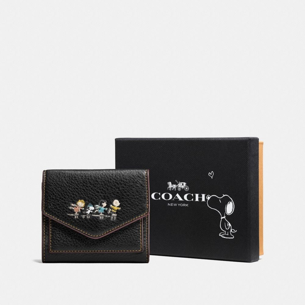 Coach Boxed Small Wallet With Snoopy Alternate View 1