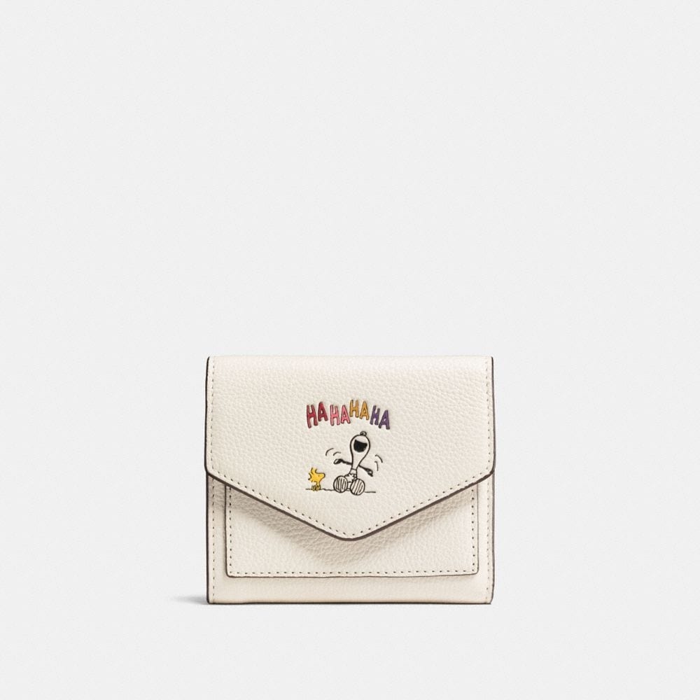 Coach Boxed Small Wallet With Snoopy