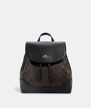 ELLE BACKPACK IN SIGNATURE CANVAS