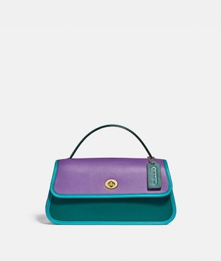 TURNLOCK CLUTCH IN COLORBLOCK