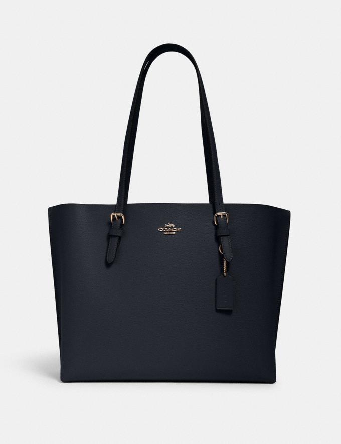 Coach Mollie Tote Im/Midnight Oxblood Bags Bags