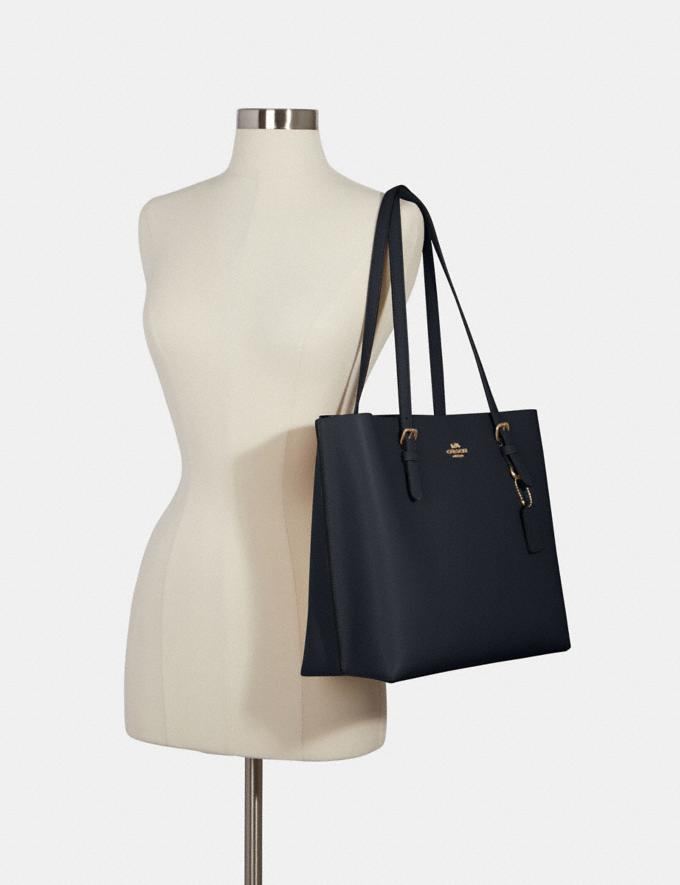 Coach Mollie Tote Im/Midnight Oxblood Bags Bags Alternate View 3