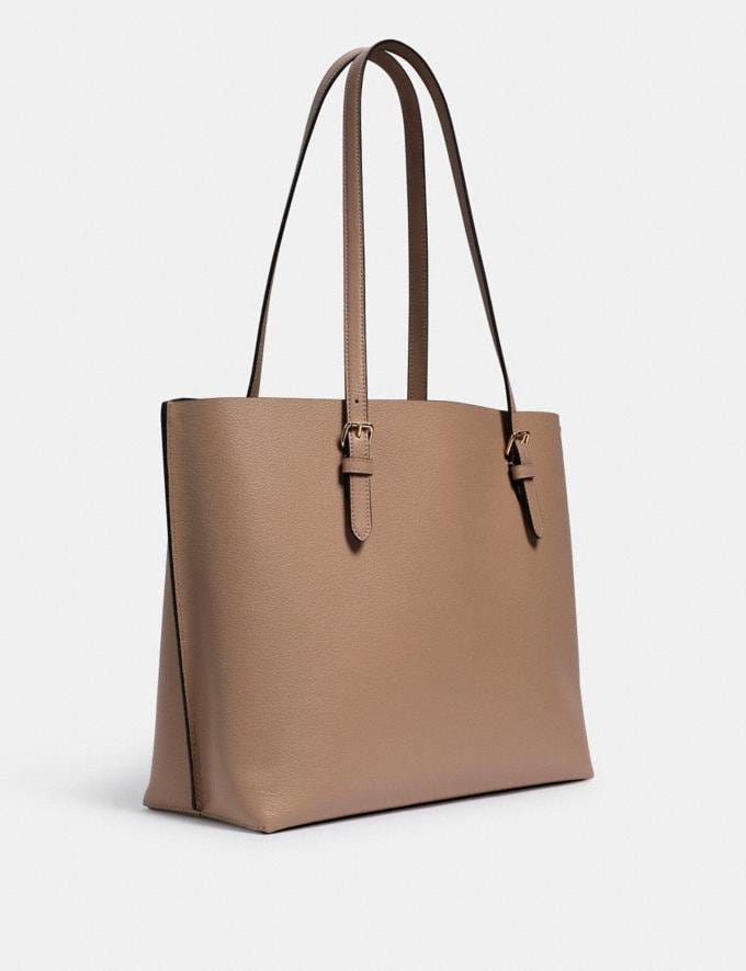Coach Mollie Tote Im/Taupe Oxblood What's New Alternate View 1