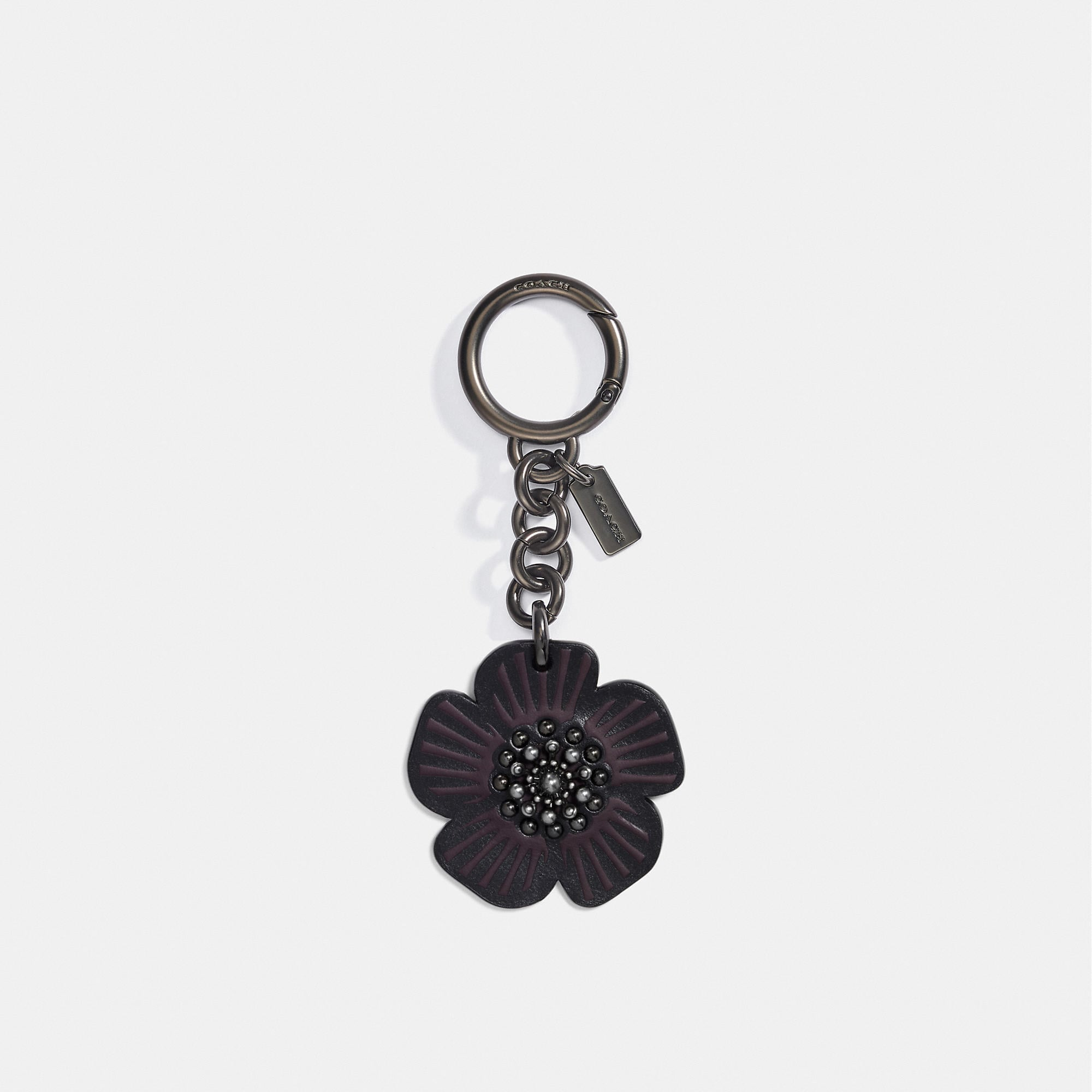 Coach Willow Floral Bag Charm