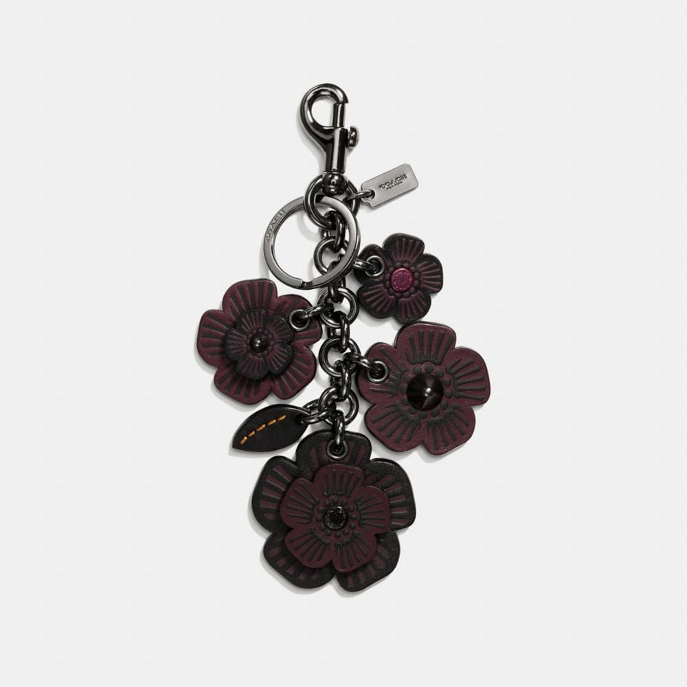 WILLOW FLORAL MIX BAG CHARM