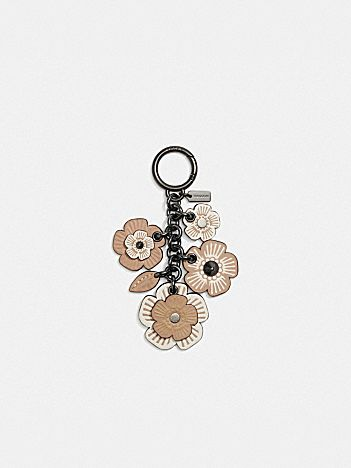 tea rose mix bag charm