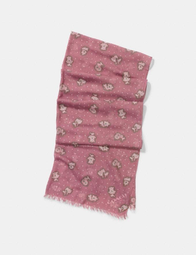 Coach Desert Flower Oblong Dusty Rose SALE Women's Sale Accessories