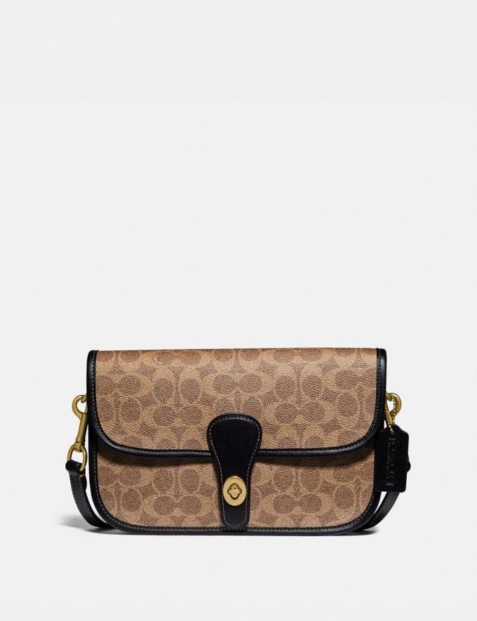 Coach Turnlock Tab Messenger in Signature Canvas Ol/Tan/Black PRIVATE SALE Men's Sale Bags
