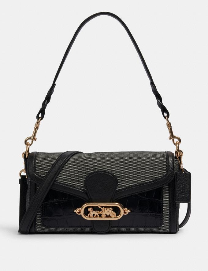 Coach Jade Shoulder Bag Im/Black Women Bags