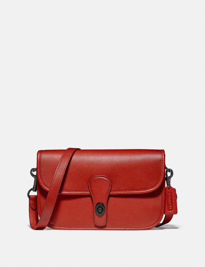 Coach Turnlock Tab Messenger Ji/Carmine Men Bags Messenger Bags