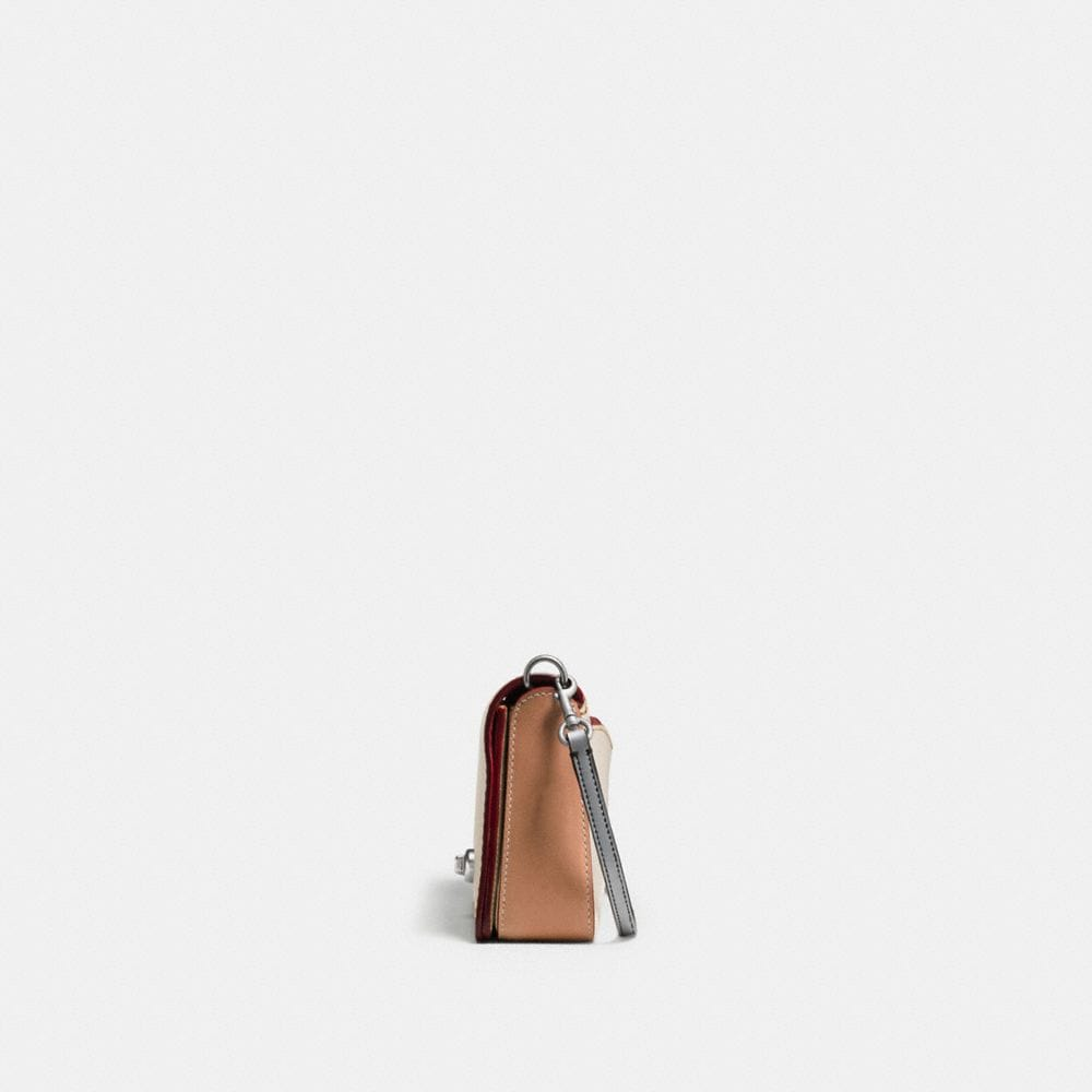 DINKY IN GLOVETANNED LEATHER WITH EMBOSSED ROCKET SHUTTLE - Visualizzazione alternativa