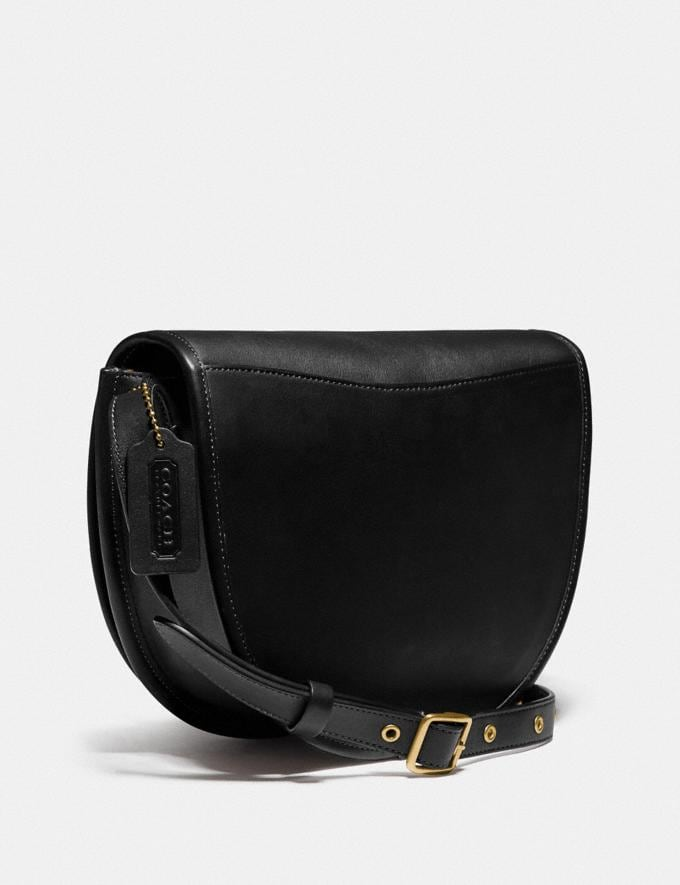 Coach Turnlock Saddle Crossbody Ol/Black Gifts For Him Under £500 Alternate View 1