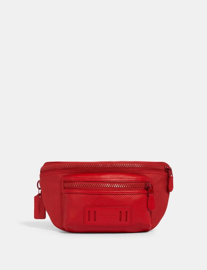 Coach Terrain Belt Bag Qb/Crimson