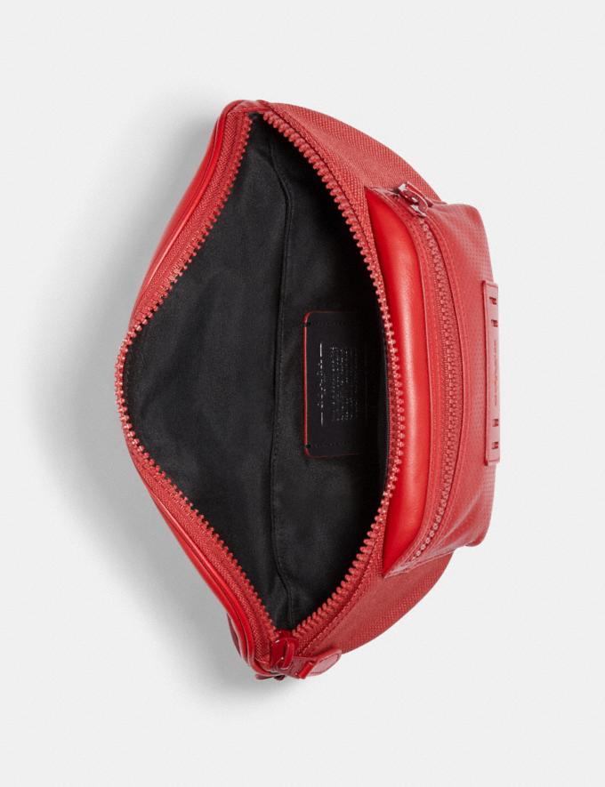 Coach Terrain Belt Bag Qb/Crimson  Alternate View 1
