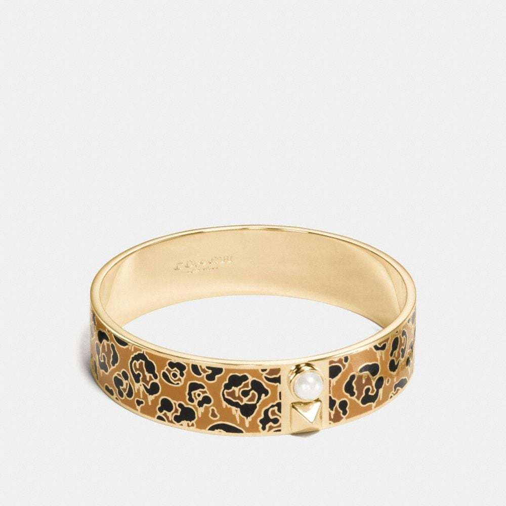 Coach Wild Beast Enamel Bangle