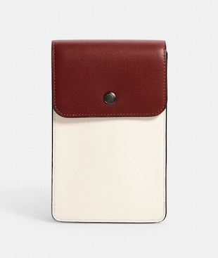 NORTH/SOUTH PHONE CROSSBODY IN COLORBLOCK