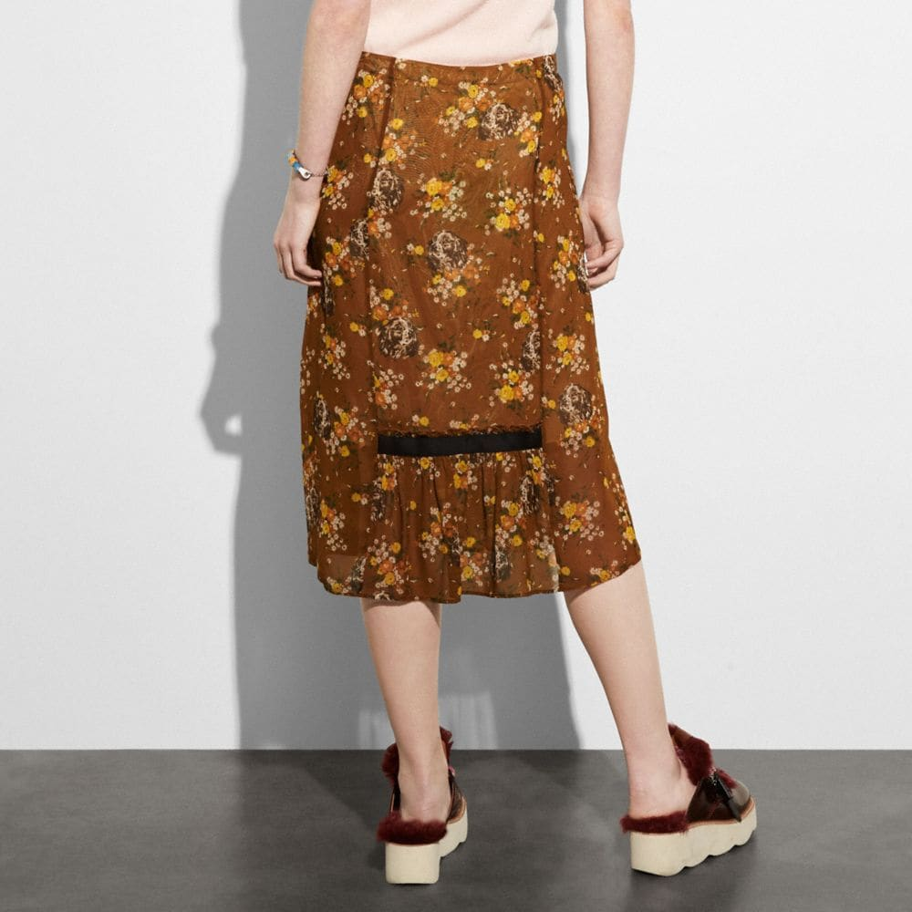 Coach Prairie Dog Rose Skirt Alternate View 2