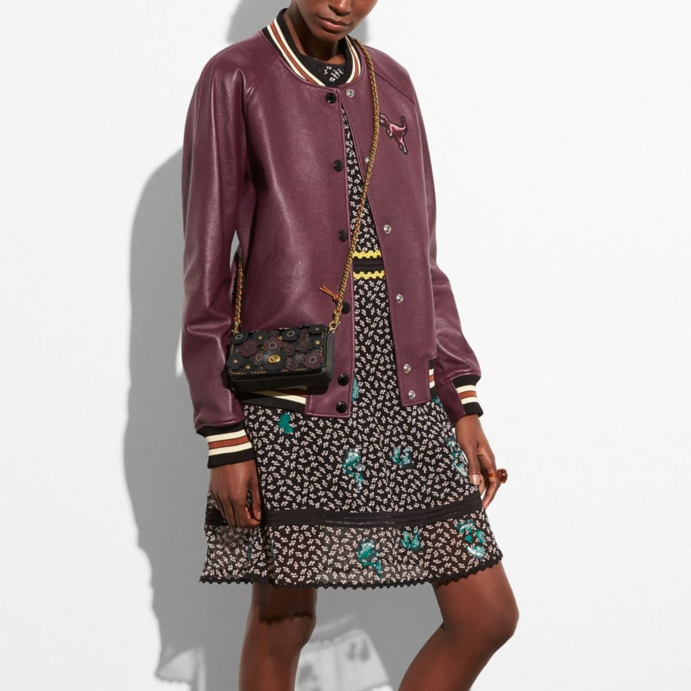 Coach Embroidered Graphic Duck Dress Alternate View 3