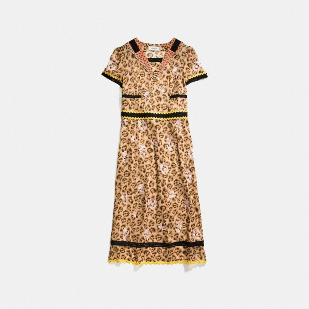 Coach Wild Beast Nautical Dress