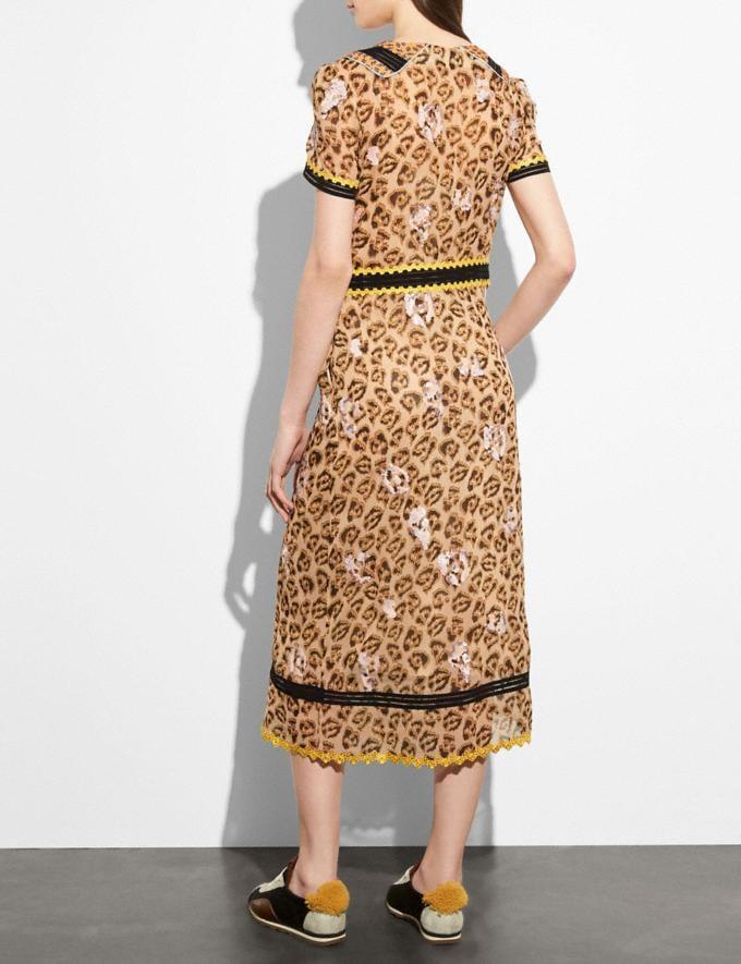 Coach Wild Beast Nautical Dress Sand CYBER MONDAY SALE Women's Sale Ready-to-Wear Alternate View 2