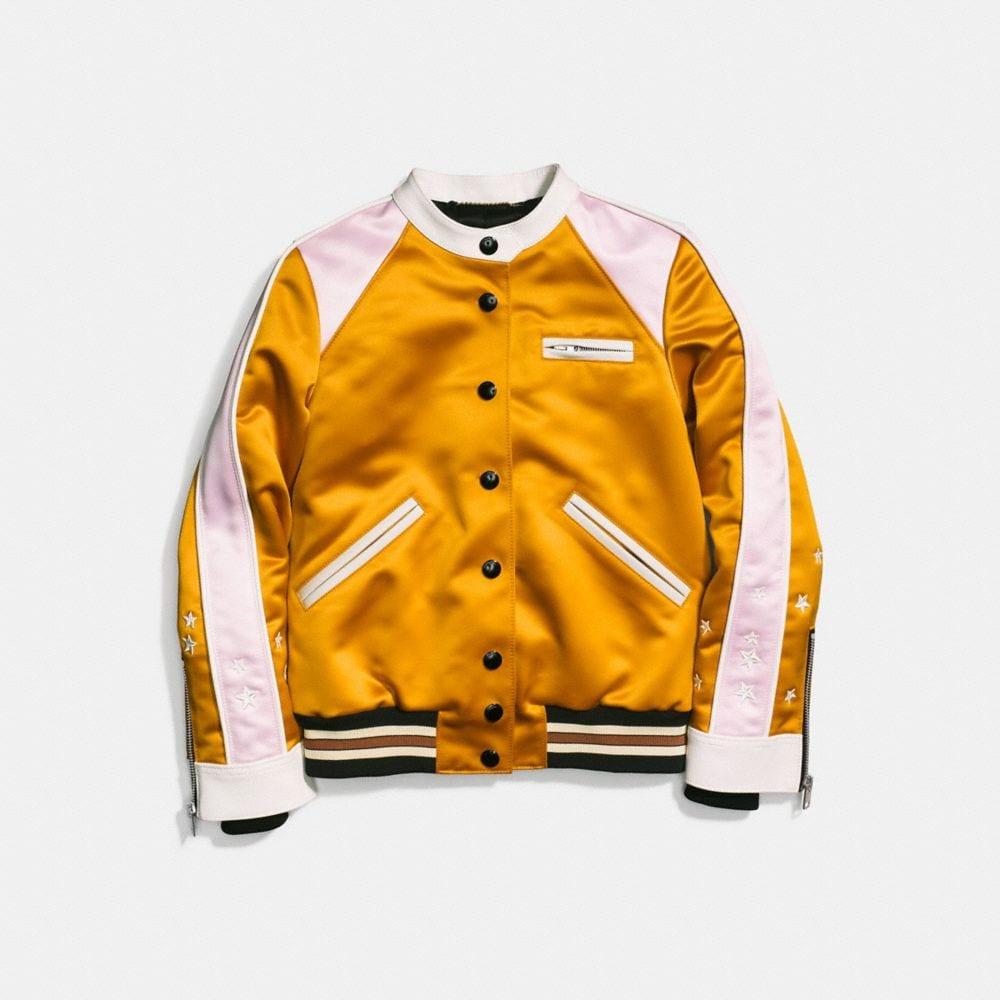 varsity racer jacket