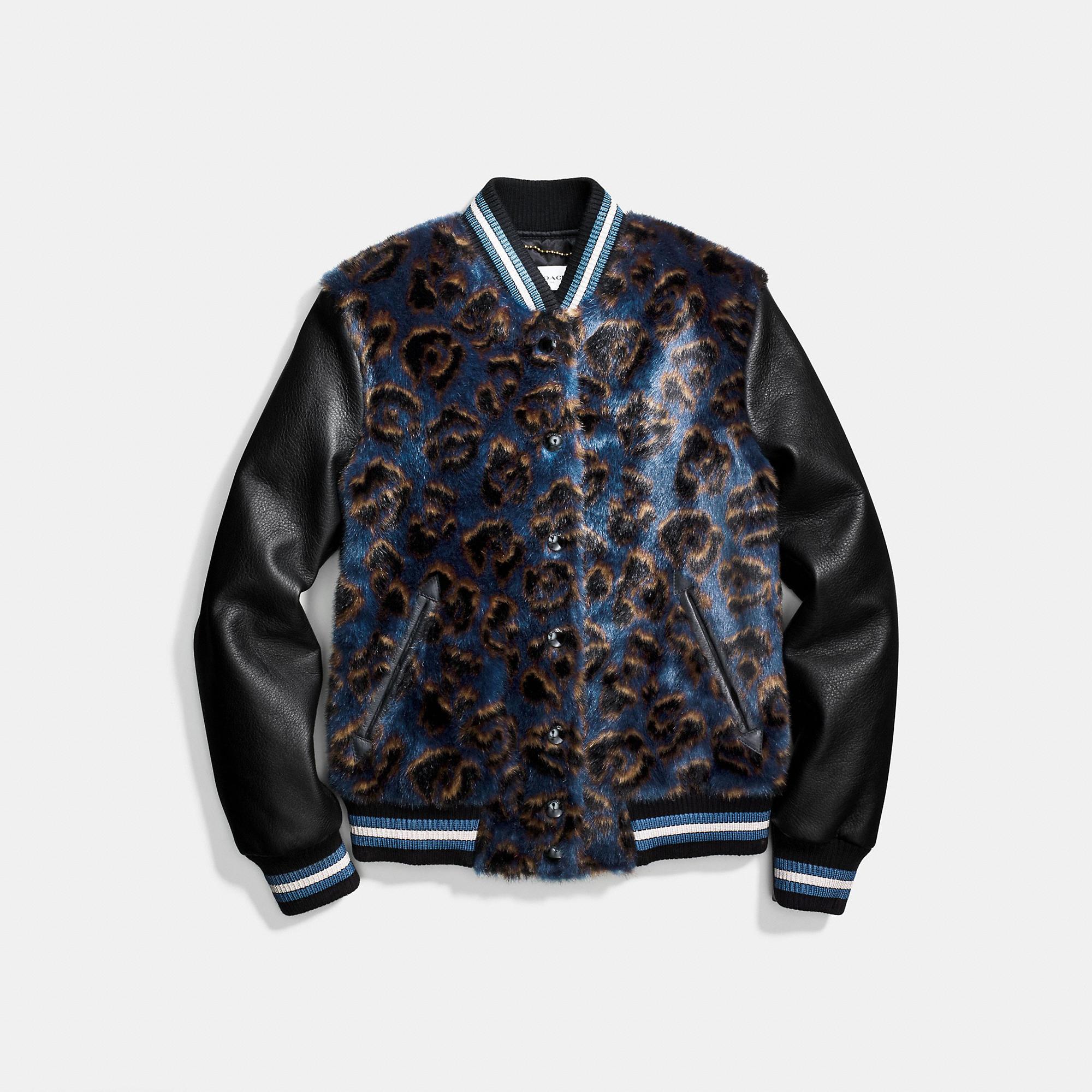 Coach Wild Beast Varsity Jacket