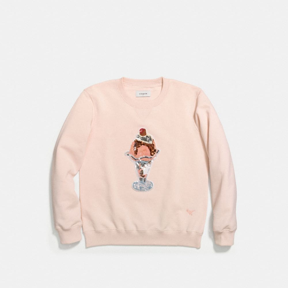 Coach Embellished Sundae Sweatshirt Alternate View 1