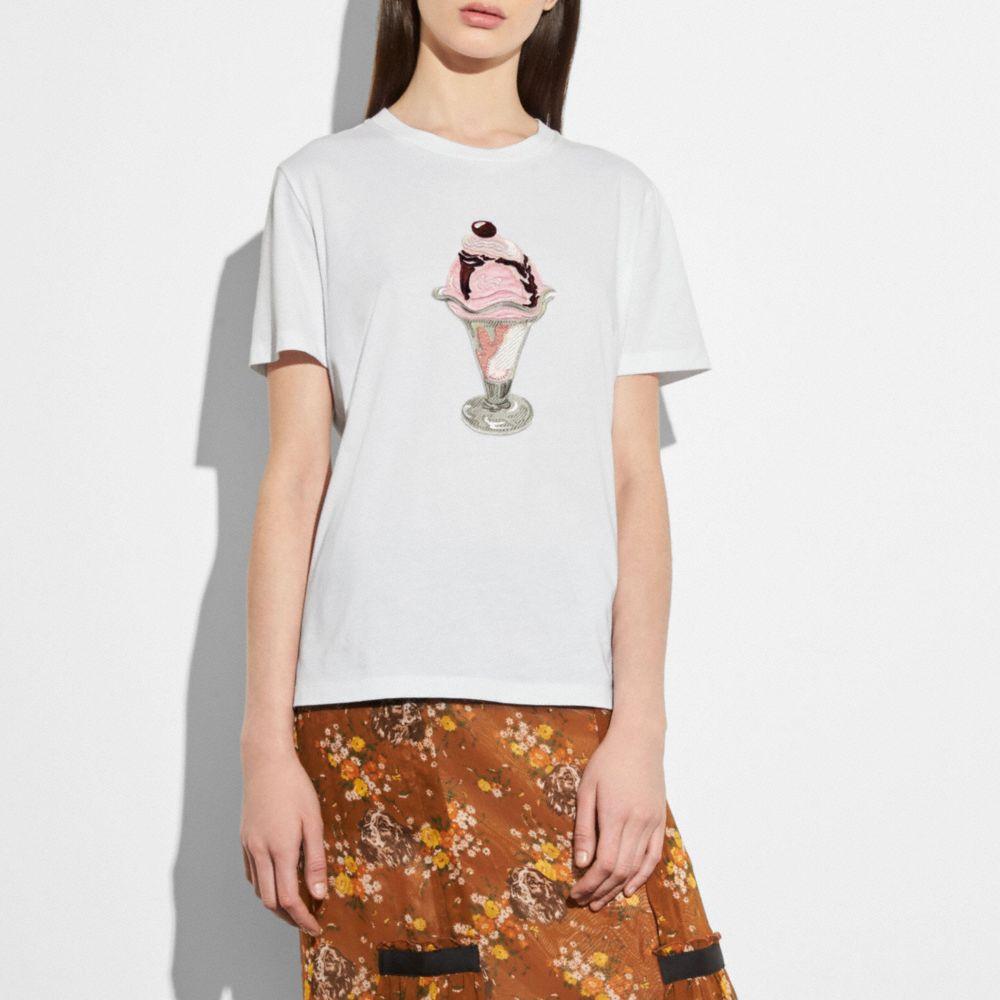 embellished sundae t-shirt