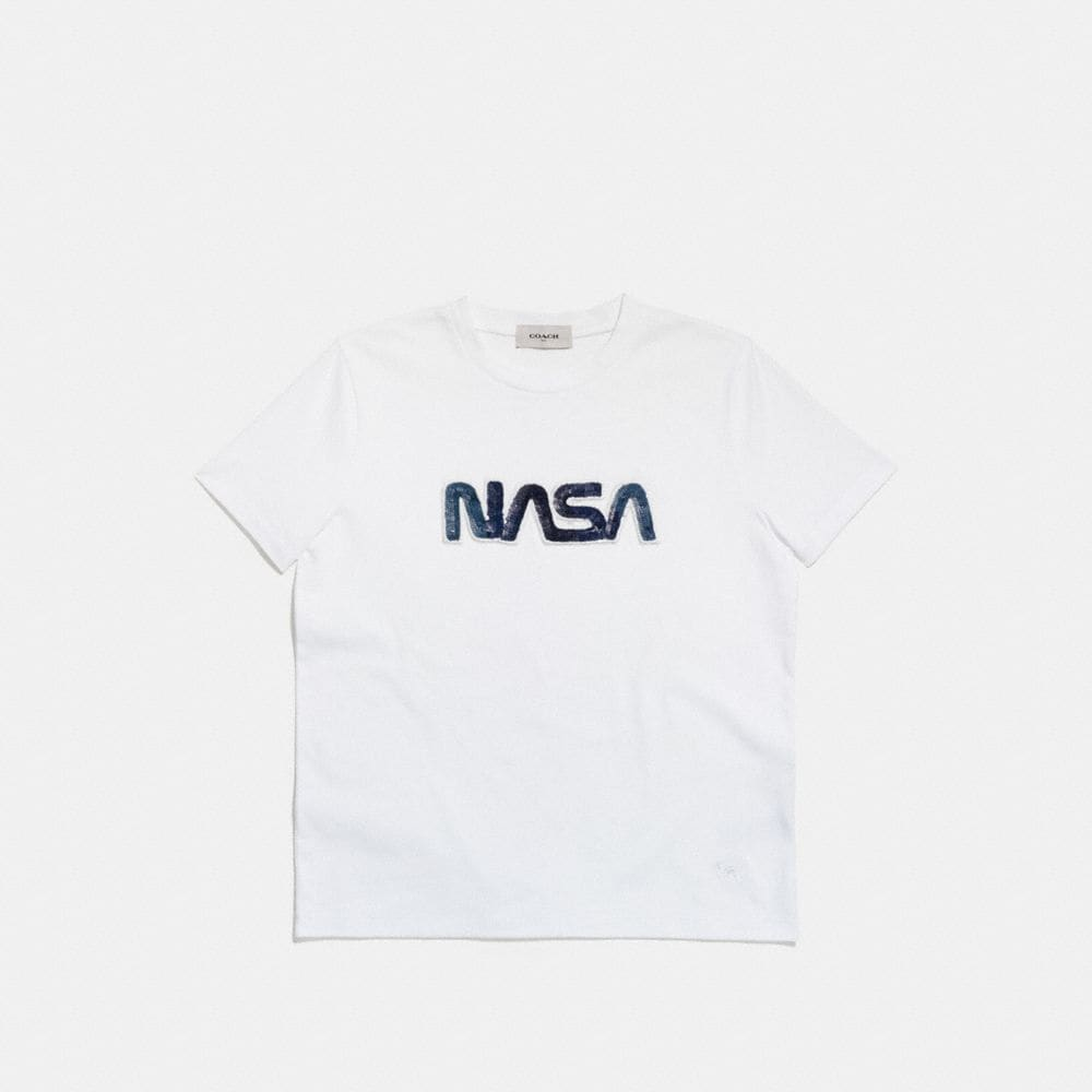 Coach Embellished Space T-Shirt Alternate View 1